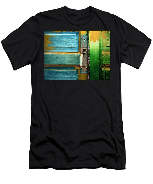 Painted Doors Men's T-Shirt (Athletic Fit)
