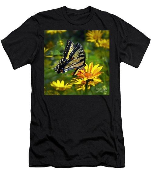 Painted Lady Men's T-Shirt (Athletic Fit)