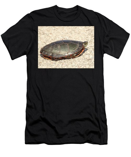 Painted Turtle Men's T-Shirt (Athletic Fit)