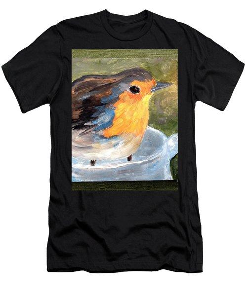 Pajarito  Men's T-Shirt (Athletic Fit)