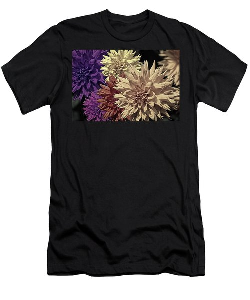 Pale Dahlias Men's T-Shirt (Athletic Fit)