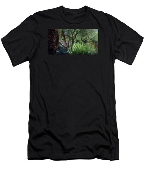 Men's T-Shirt (Slim Fit) featuring the photograph Palm Desert Museum Of Art by Sherri  Of Palm Springs