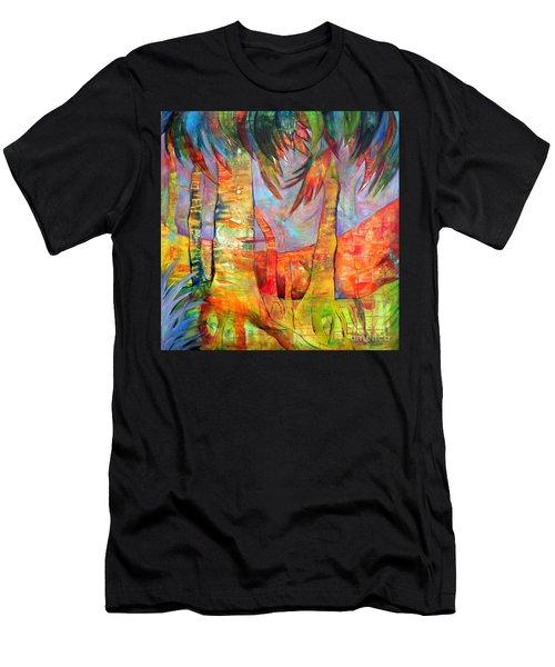 Palm Jungle Men's T-Shirt (Athletic Fit)
