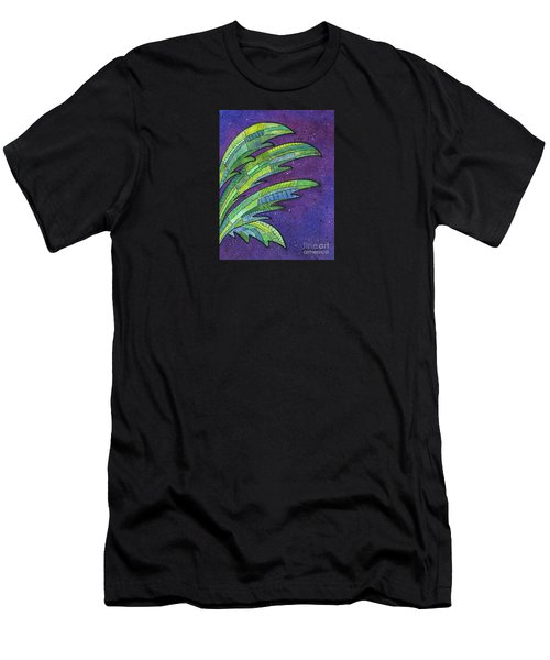 Palms Against The Night Sky Men's T-Shirt (Athletic Fit)