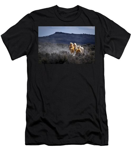 Palomino Buttes Band Men's T-Shirt (Athletic Fit)