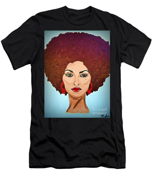 Pam Grier C1970 The Original Diva Men's T-Shirt (Athletic Fit)