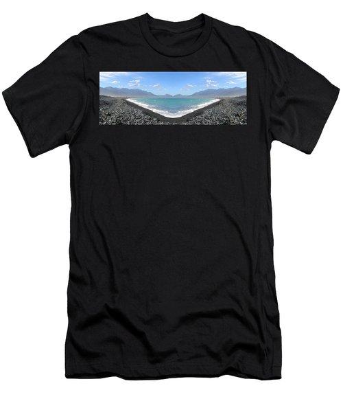 Panorama Lake Men's T-Shirt (Athletic Fit)