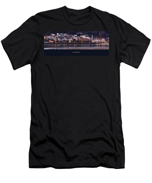 Panorama Of Cedeira Galicia Spain Men's T-Shirt (Athletic Fit)