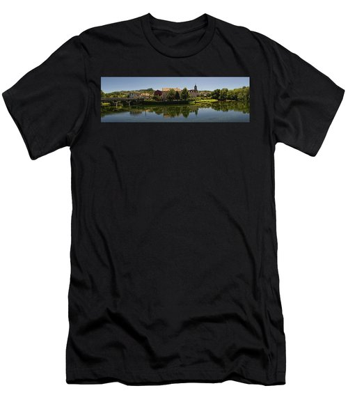 Panoramic Landscape Men's T-Shirt (Athletic Fit)