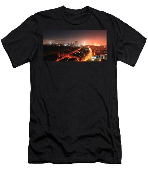 Panoramic London Men's T-Shirt (Athletic Fit)