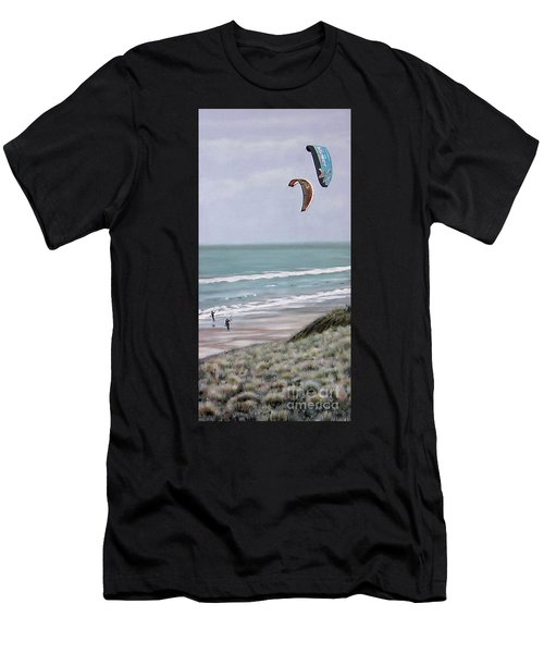 Papamoa Beach 090208 Men's T-Shirt (Athletic Fit)