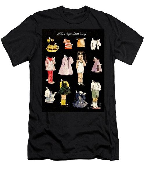 Paper Doll Amy Men's T-Shirt (Athletic Fit)