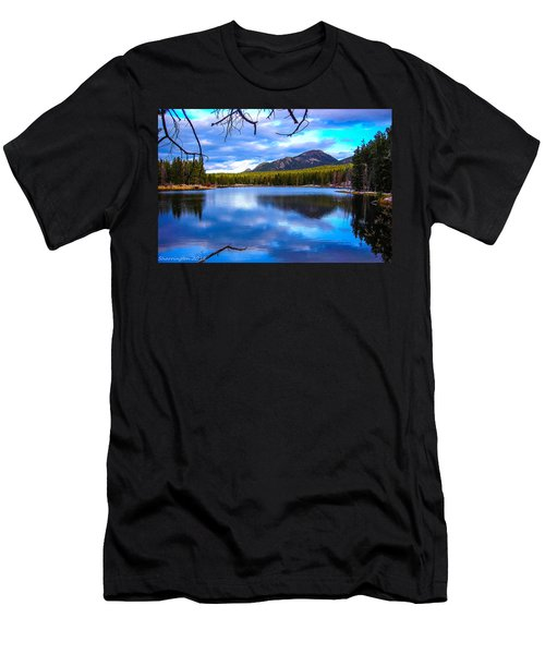 Men's T-Shirt (Slim Fit) featuring the photograph Paradise 2 by Shannon Harrington
