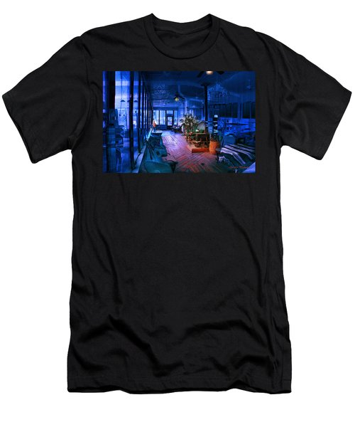 Men's T-Shirt (Athletic Fit) featuring the photograph Paranormal Activity by Gunter Nezhoda