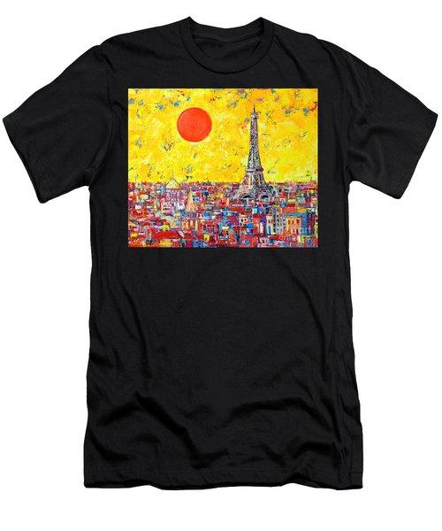 Paris In Sunlight Men's T-Shirt (Athletic Fit)