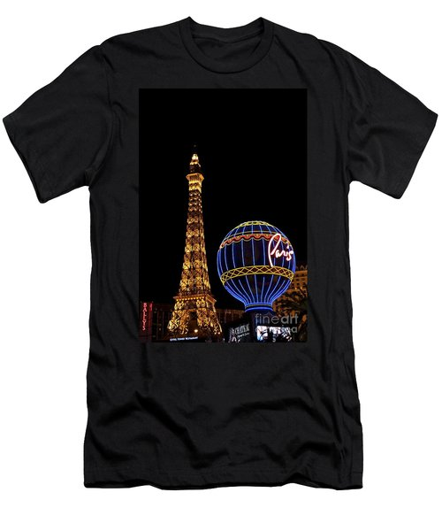 Paris In Vegas Men's T-Shirt (Athletic Fit)