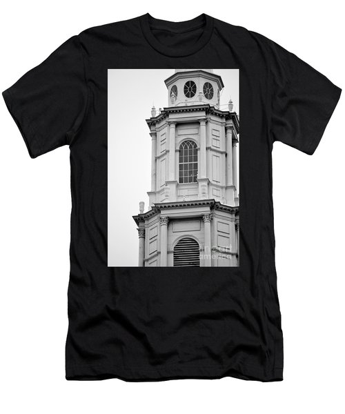 Park Street Church Boston Men's T-Shirt (Athletic Fit)