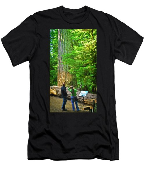 Park Visitors Men's T-Shirt (Athletic Fit)
