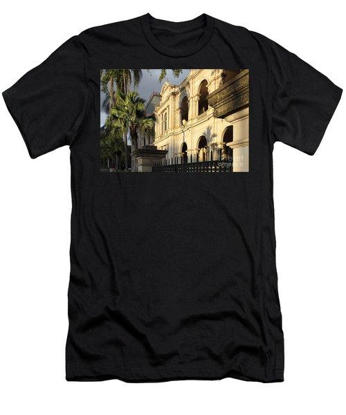 Parlament House In Brisbane Australia Men's T-Shirt (Athletic Fit)