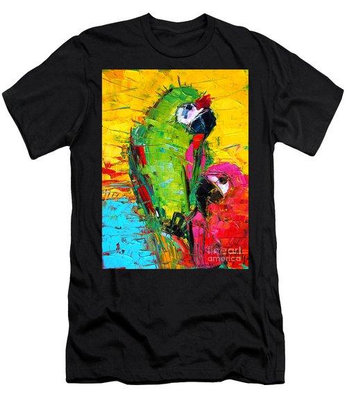 Parrot Lovers Men's T-Shirt (Athletic Fit)