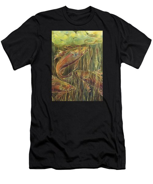 Party Under The Lily Pads II Men's T-Shirt (Athletic Fit)