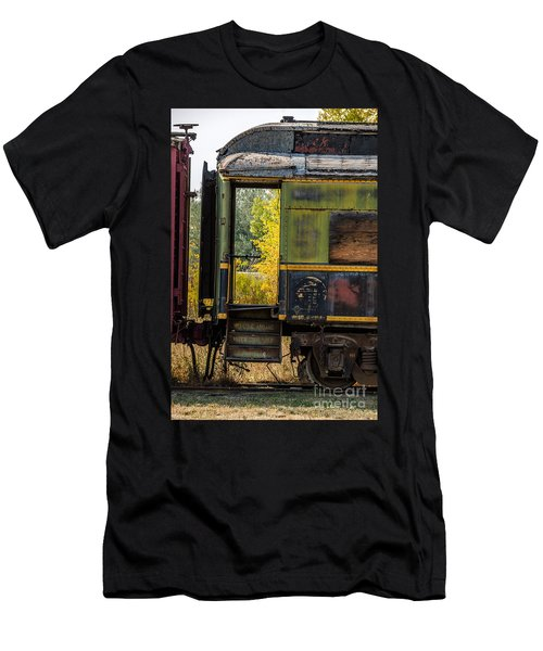 Passenger Car Entrance Men's T-Shirt (Athletic Fit)