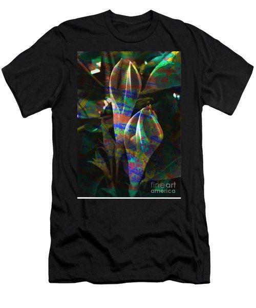 Passion Flowers Men's T-Shirt (Athletic Fit)