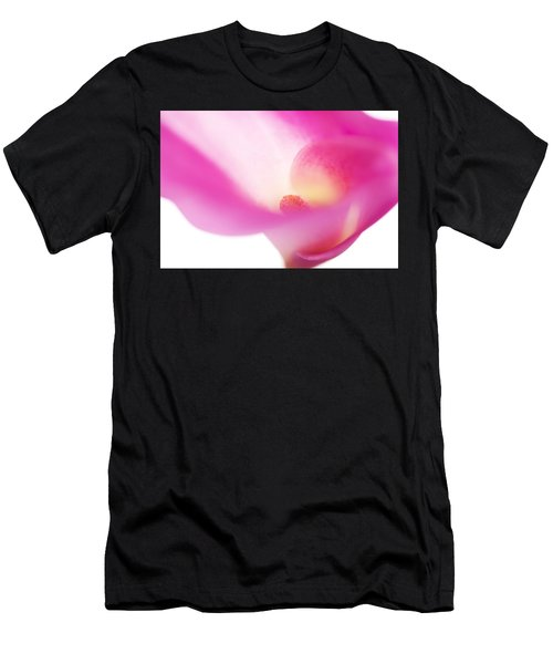Passion For Flowers. Pink Veil Men's T-Shirt (Athletic Fit)