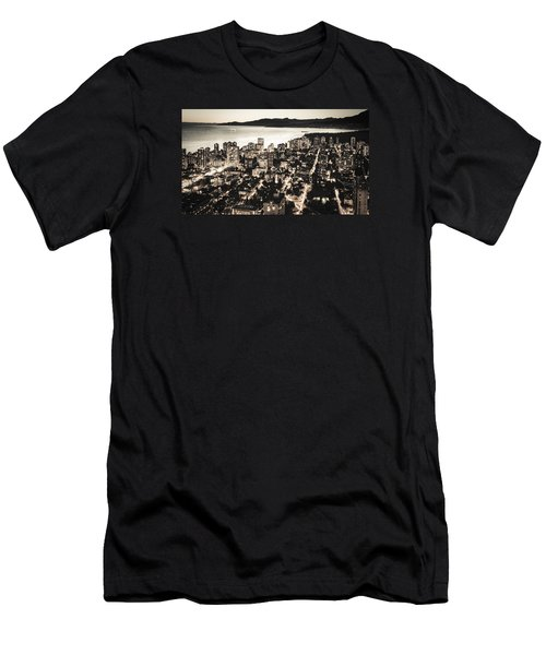 Men's T-Shirt (Slim Fit) featuring the photograph Passionate English Bay Mccclxxviii by Amyn Nasser