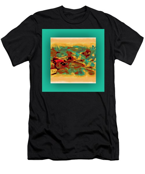 Men's T-Shirt (Athletic Fit) featuring the digital art Pastel 5 by Mihaela Stancu