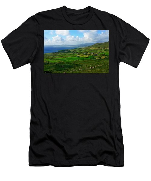 Patchwork Landscape Men's T-Shirt (Athletic Fit)