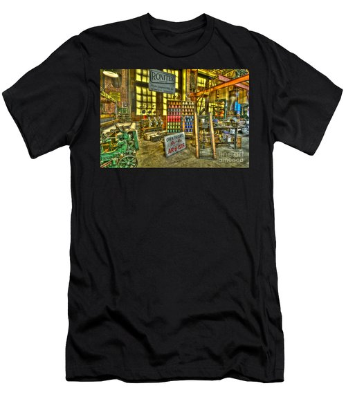 Paterson Silk Mill Men's T-Shirt (Athletic Fit)