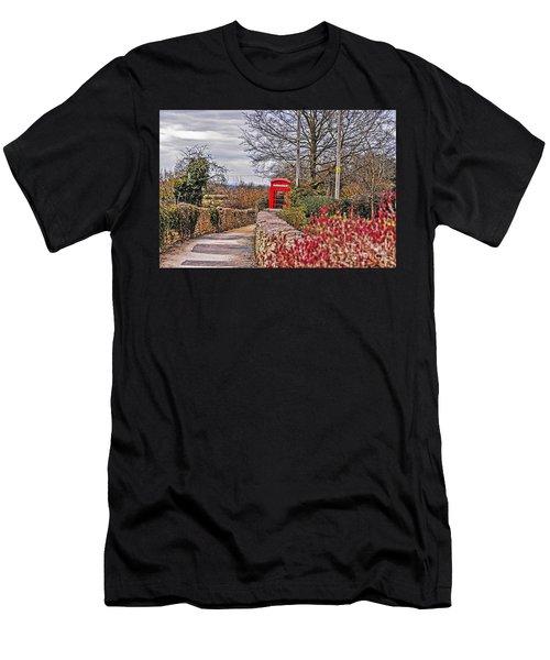 Path Through The Cotswolds Men's T-Shirt (Athletic Fit)