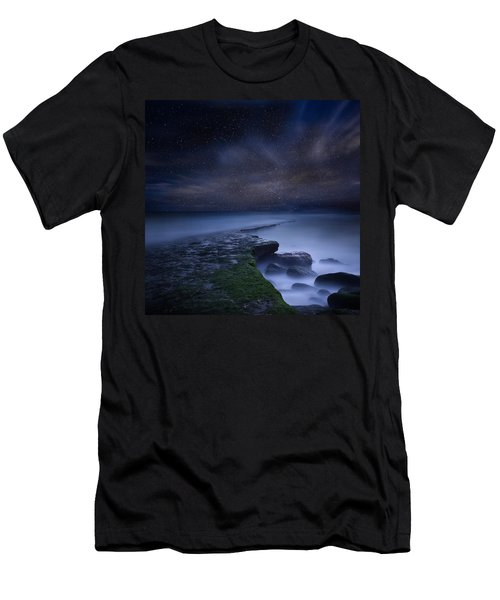 Path To Infinity Men's T-Shirt (Slim Fit) by Jorge Maia