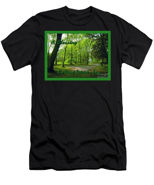 Pathway Saint Patrick's Day Greeting Men's T-Shirt (Athletic Fit)