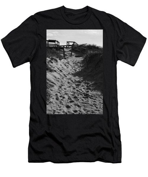 Pathway Through The Dunes Men's T-Shirt (Athletic Fit)