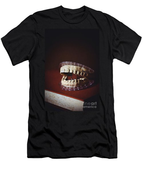Men's T-Shirt (Slim Fit) featuring the photograph Patient 910 by Trish Mistric