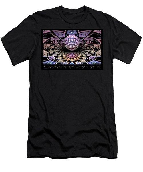 Pattern Men's T-Shirt (Athletic Fit)