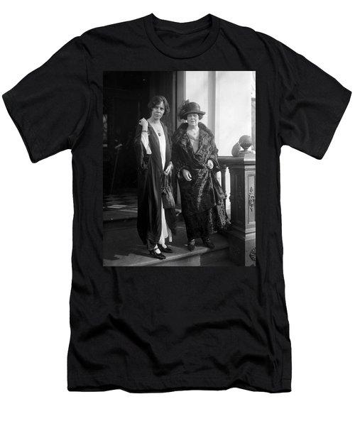 Men's T-Shirt (Slim Fit) featuring the photograph Paul & Belmont, 1923 by Granger
