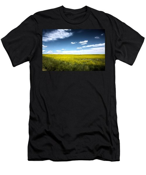 Pawnee Grasslands Men's T-Shirt (Athletic Fit)