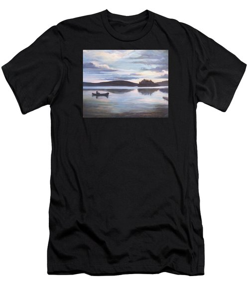 Payette Lake Idaho Men's T-Shirt (Athletic Fit)