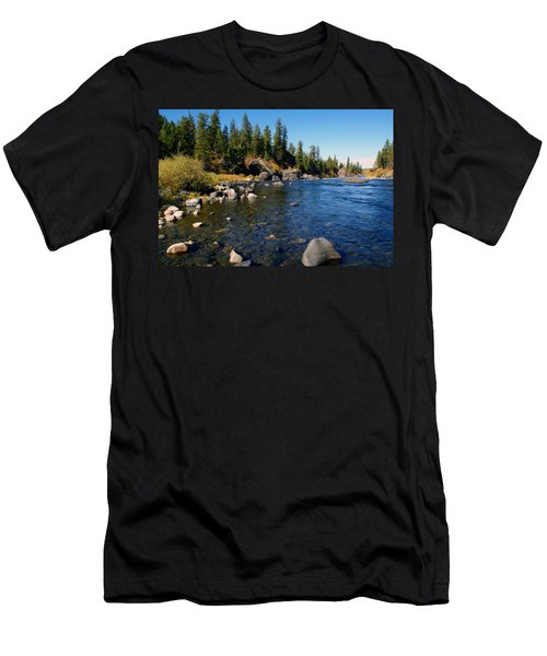 Peace On The Spokane River 2 Men's T-Shirt (Athletic Fit)