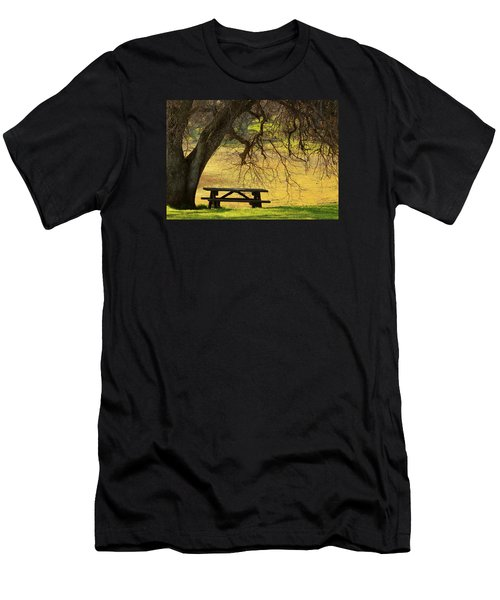 Men's T-Shirt (Slim Fit) featuring the photograph Peace  by Rima Biswas
