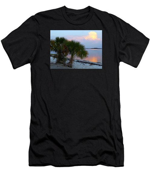 Peaceful Beach Sunrise Men's T-Shirt (Athletic Fit)