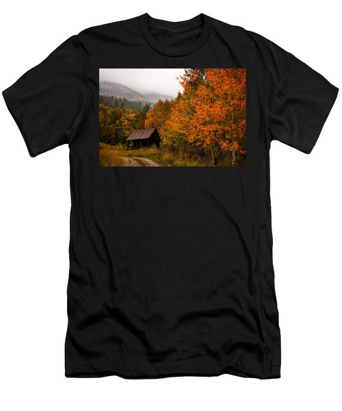 Men's T-Shirt (Slim Fit) featuring the photograph Peaceful by Ken Smith