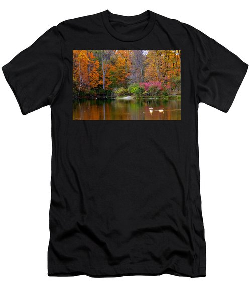 Peaceful Lake Men's T-Shirt (Athletic Fit)
