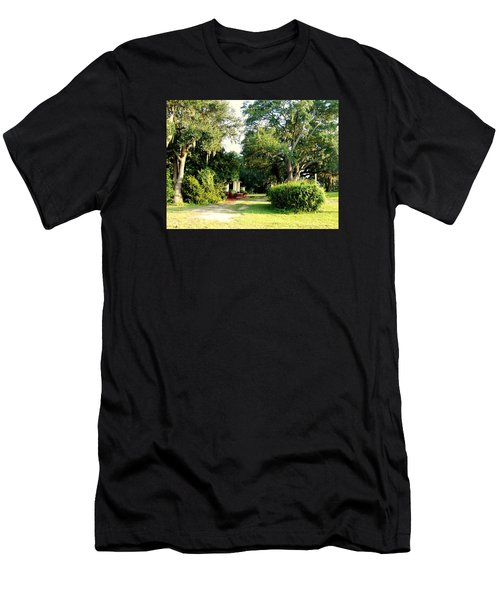 Peaceful Morning Men's T-Shirt (Slim Fit) by Catherine Gagne