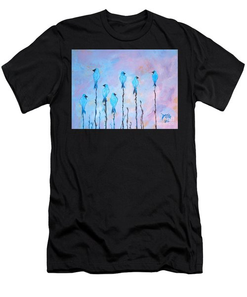 Peaceful Morning Limited Edition Prints 6 Of 20 Men's T-Shirt (Athletic Fit)