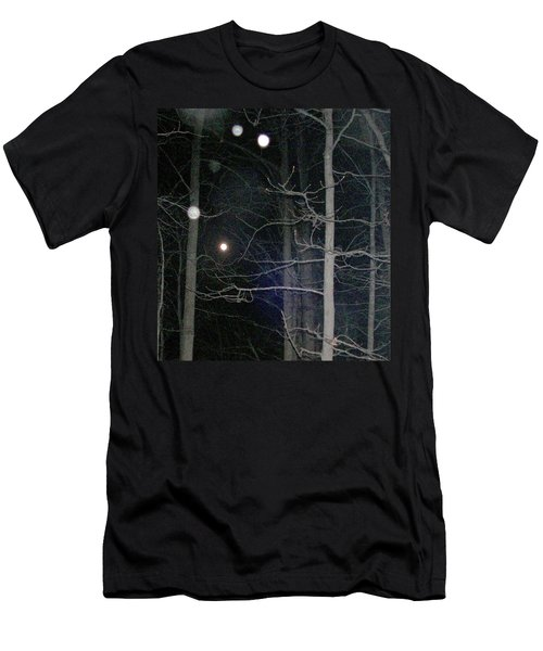 Men's T-Shirt (Slim Fit) featuring the photograph Peaceful Spirits Passing by Pamela Hyde Wilson