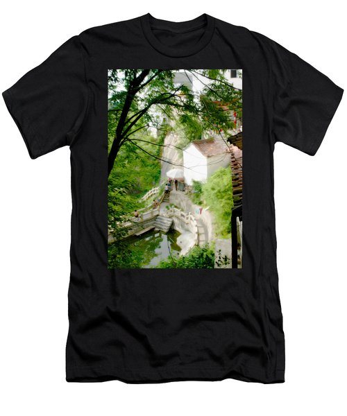 Peaceful Spot In China Men's T-Shirt (Athletic Fit)